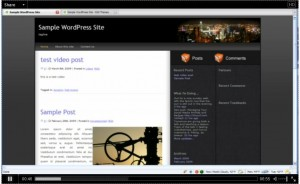 Post Format: Video (WordPress.tv)